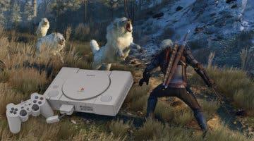 Imagen de Así imaginan a The Witcher 3 en una PS1 con un espectacular resultado