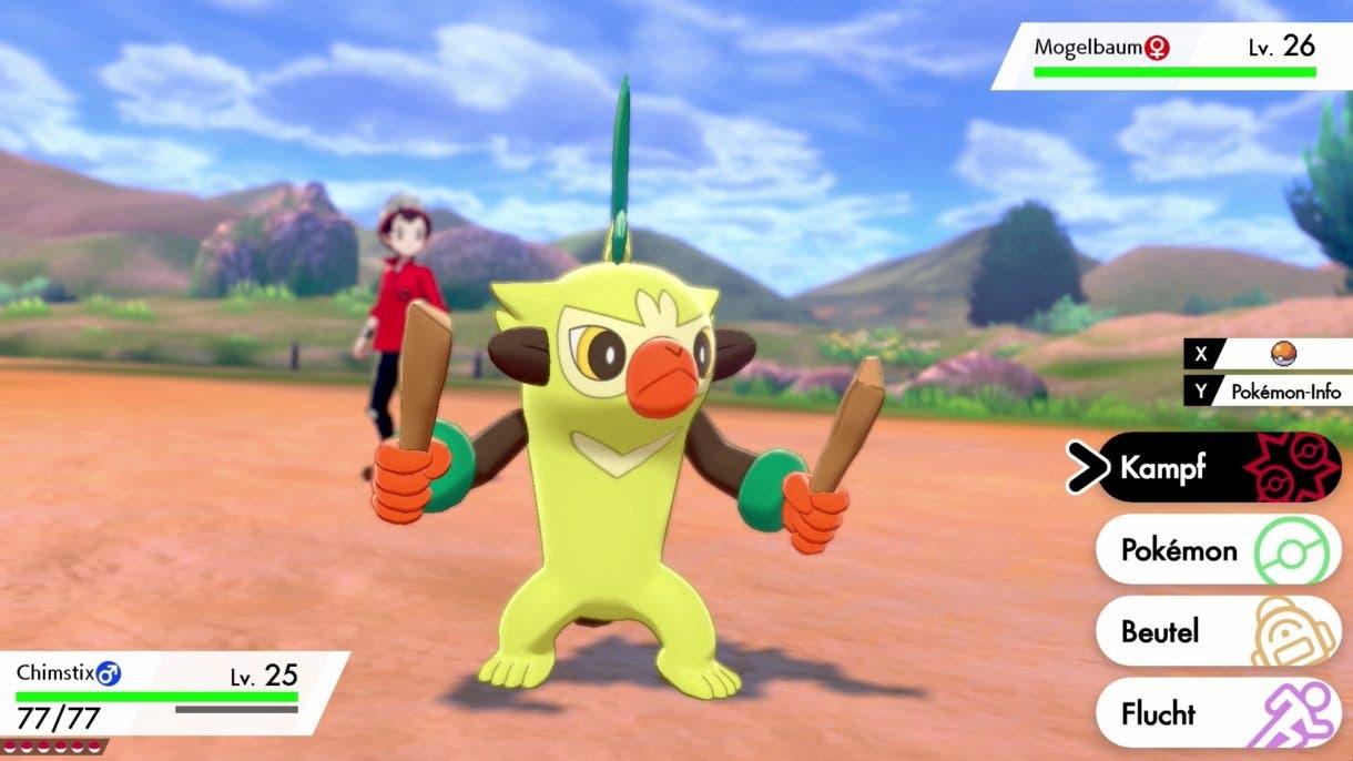 Thwackey Pokemon inicial