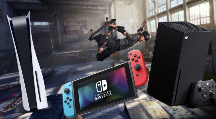 Imagen de Tony Hawk's Pro Skater 1 + 2 adelanta su casi segura llegada a PS5, Xbox Series y Switch