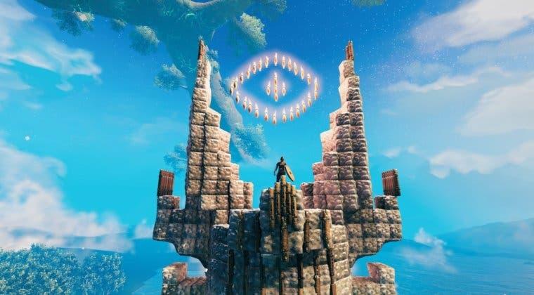 Imagen de Un usuario recrea la Torre de Sauron en Valheim y el resultado es espectacular