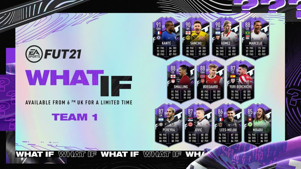 what if equipo 1 fifa 21
