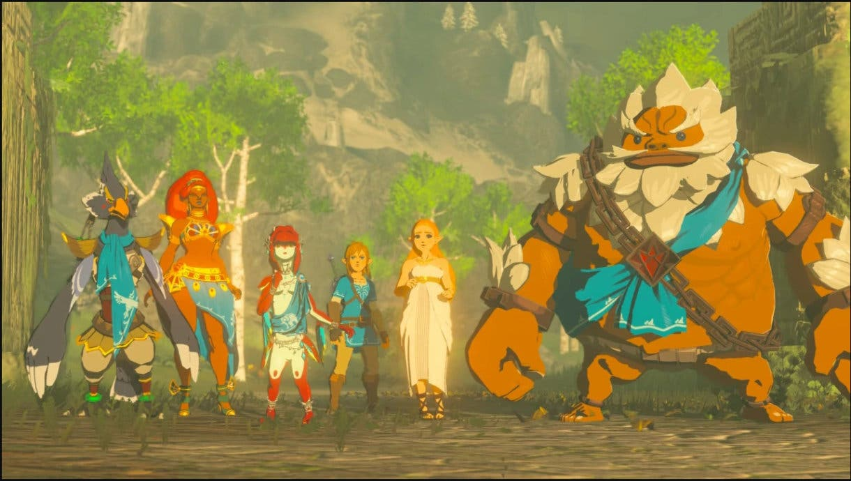 Zelda Breath of the Wild personajes