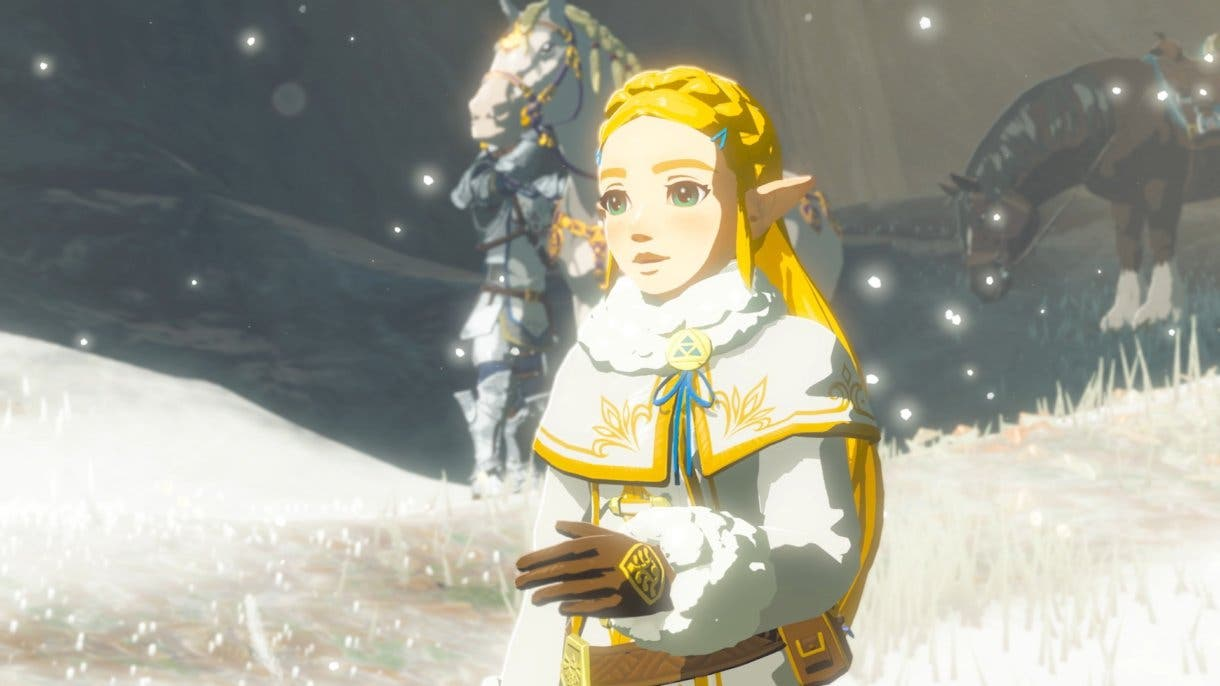 Zelda Breath of the Wild Princesa