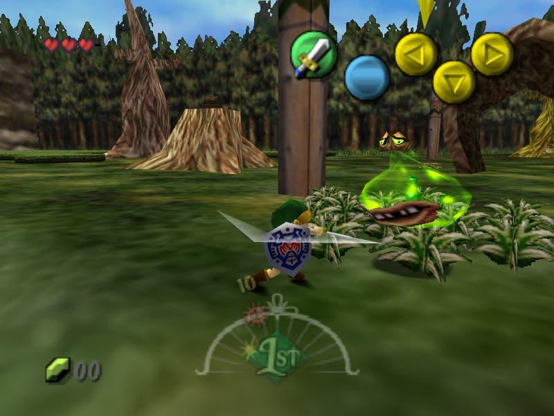 Zelda Majoras Mask ingame