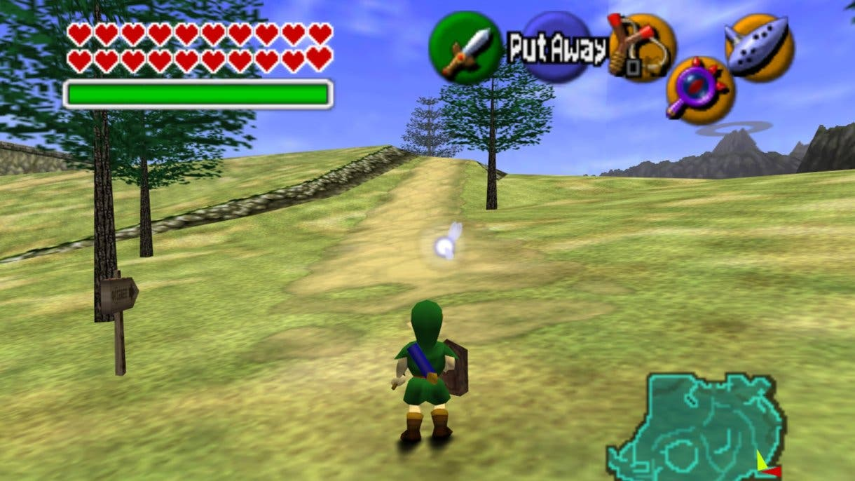 Zelda Ocarina of Time ingame 2