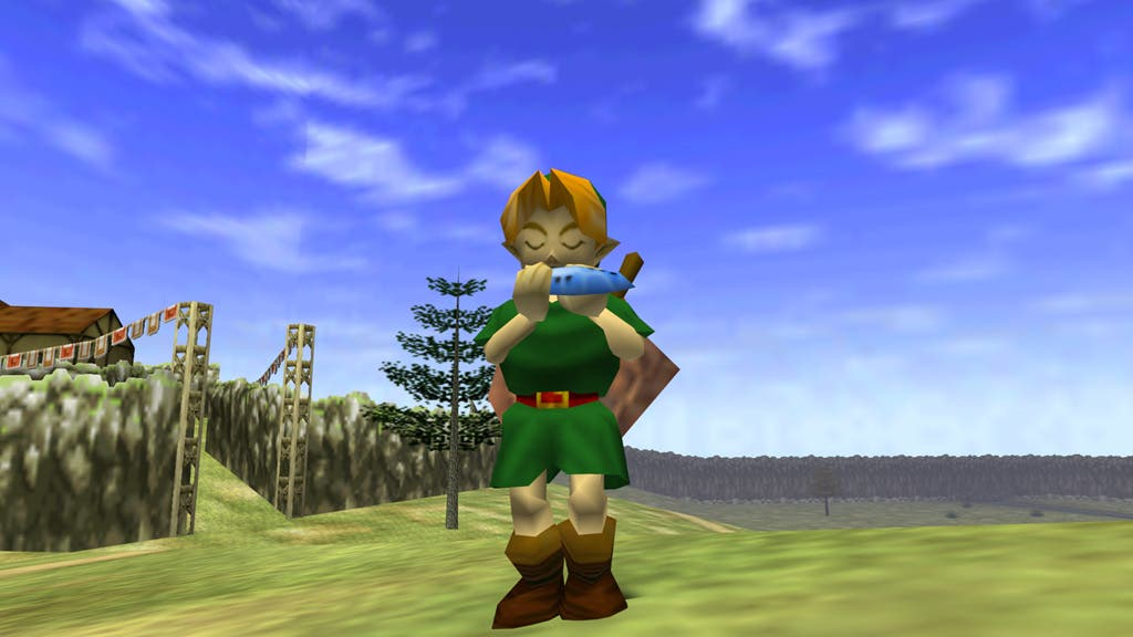 Zelda Ocarina of Time ingame