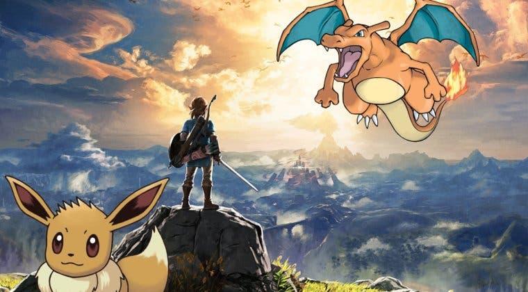 Imagen de Así es el guiño de Leyendas Pokémon: Arceus a The Legend of Zelda en su primer tráiler