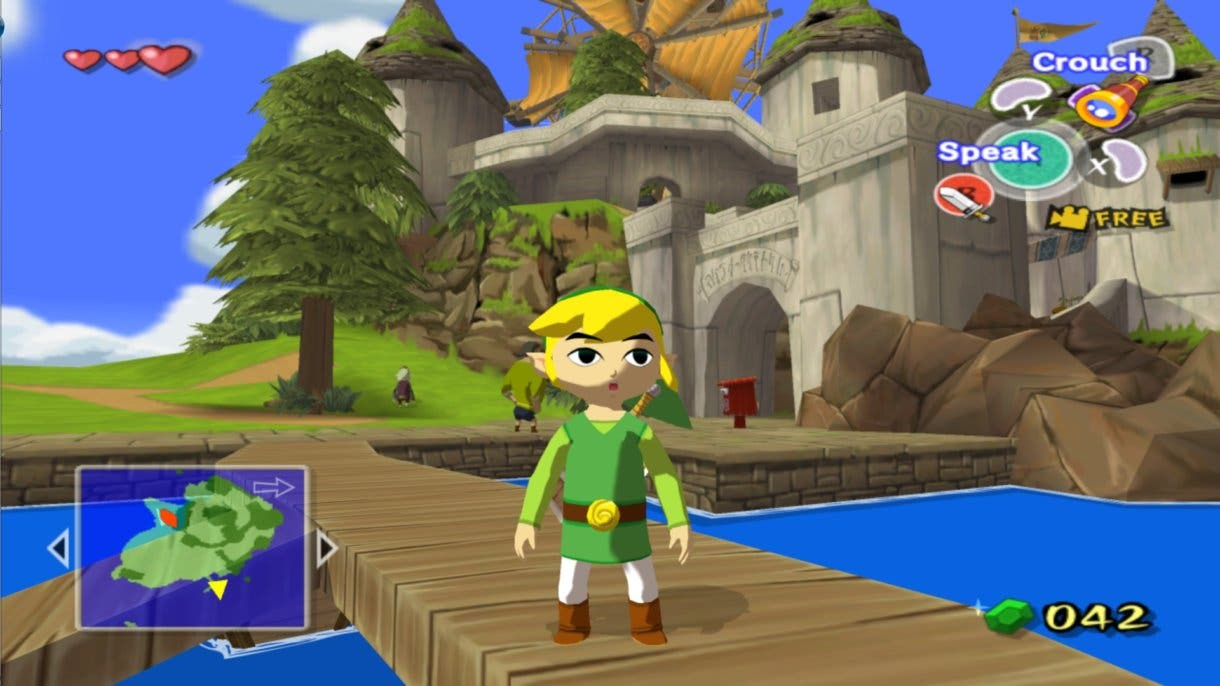Zelda The Wind Waker ingame