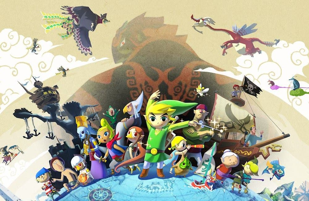 Zelda The Wind Waker WII U
