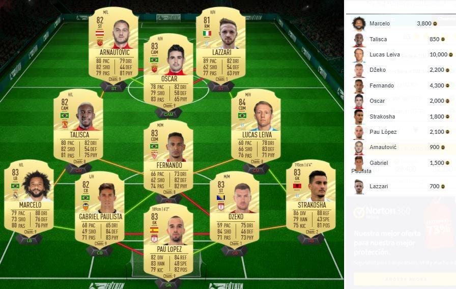 FIFA 21 Ultimate Team SBC Palacio FUT Birthday