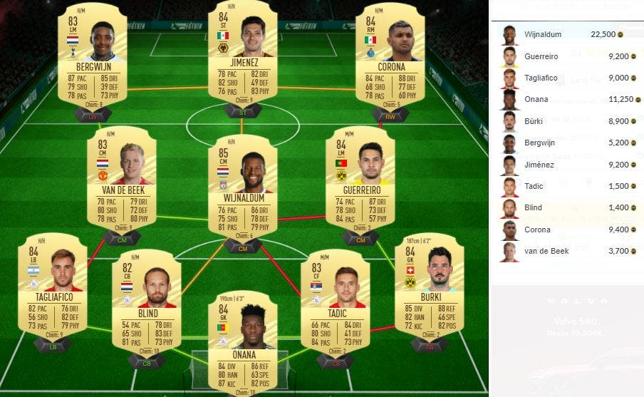 FIFA 21 Ultimate Team SBC Leroy Fer What If