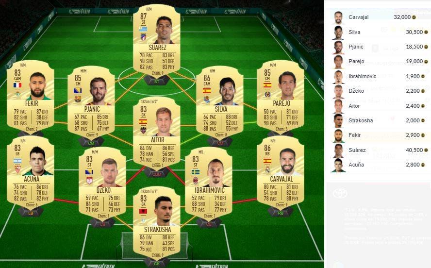FIFA 21 Ultimate Team SBC Lemar Showdown