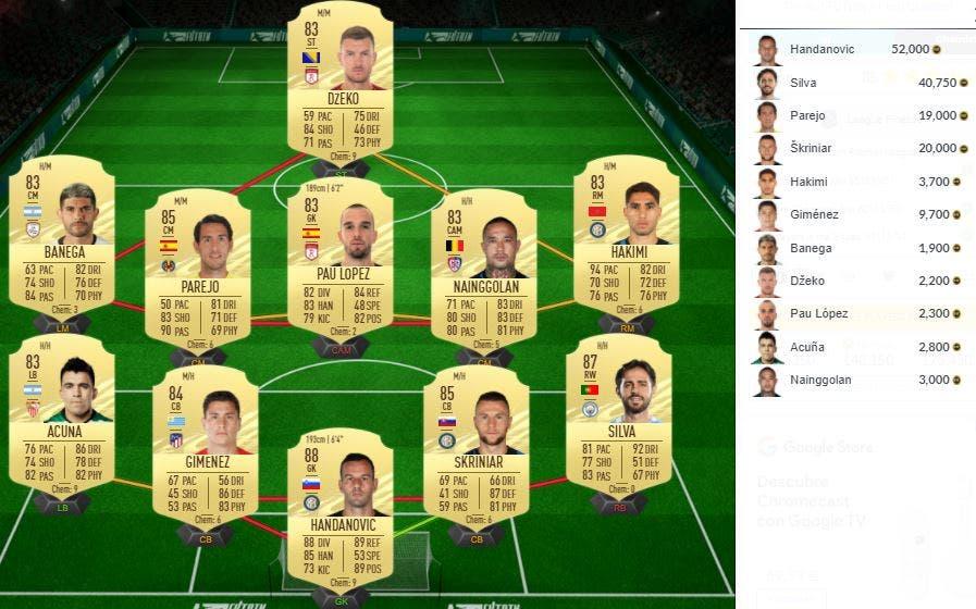 FIFA 21 Ultimate Team SBC Rudiger Showdown