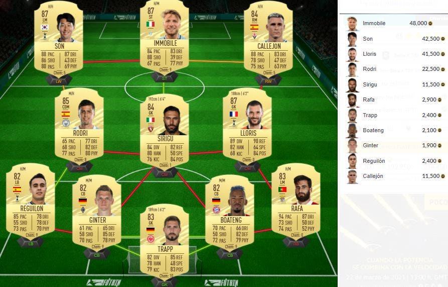FIFA 21 Ultimate Team SBC Rabiot Moments