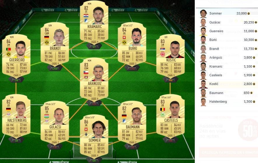 FIFA 21 Ultimate Team SBC Ozil FUT Birthday
