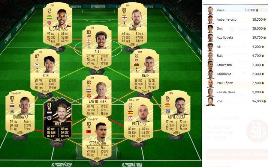 FIFA 21 Ultimate Team SBC Mangala FUT Birthday