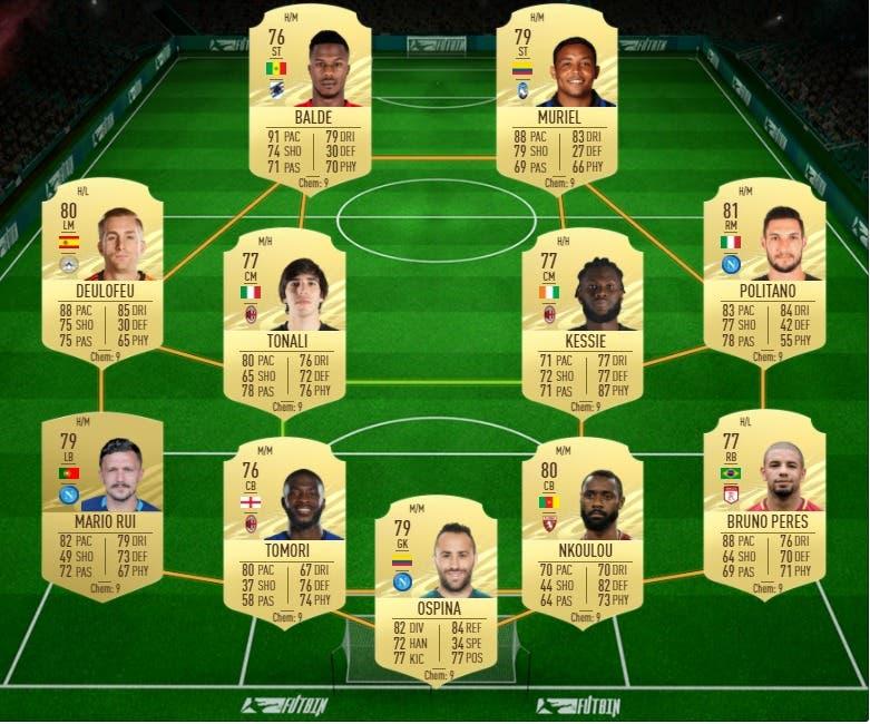 FIFA 21 Ultimate Team Guía Pastore Jugador de Liga