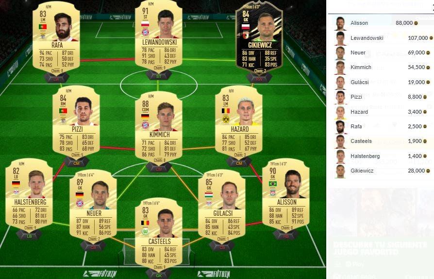 FIFA 21 Ultimate Team SBC Mbappé POTM Febrero Ligue 1