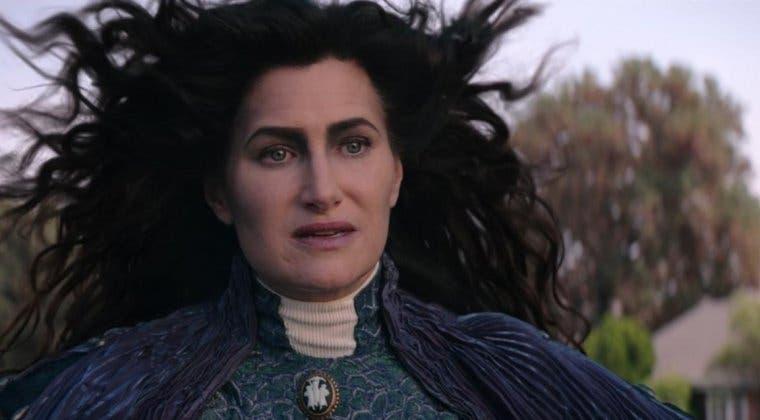 Imagen de Bruja Escarlata y Visión: la actriz de Agatha responde a la teoría sobre Mephisto