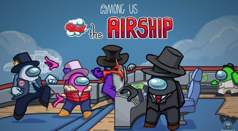 Imagen de The Airship, el nuevo mapa de Among Us, ya tiene fecha de lanzamiento