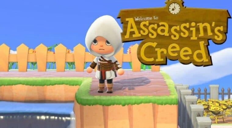 Imagen de Conviértete en Assassin dentro de Animal Crossing: New Horizons con este diseño oficial
