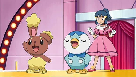 anime de Pokemon Maya Concurso Pokemon