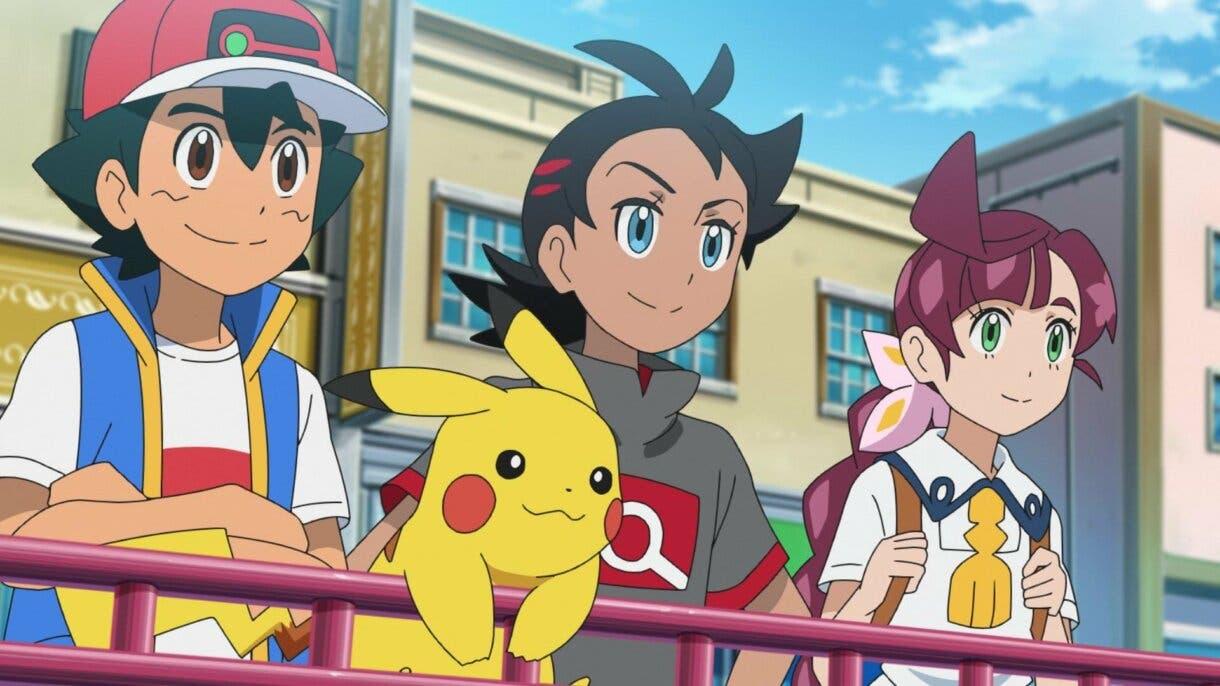 anime de Pokemon Viajes Pokemon Ash Goh Chloe