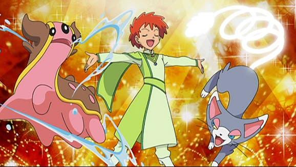 anime de Pokemon Zoe Concurso Pokemon