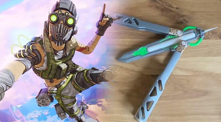 Imagen de Un fan de Apex Legends recrea el cuchillo mariposa de Octane con este impresionante resultado