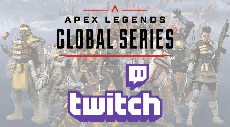 Imagen de Consigue recompensas de Apex Legends exclusivas gratis con drops en Twitch durante la ALGS