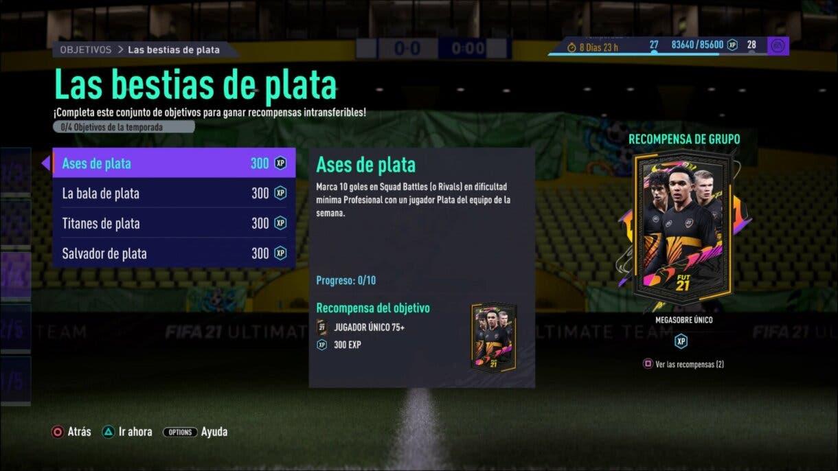 FIFA 21 Ultimate Team Bestias de Plata consigue un Megasobre Único gratuito