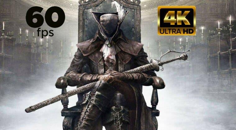 Imagen de Es real; juegan a Bloodborne a 4K y 60 FPS en PS5