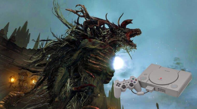 Imagen de Recrean el primer combate contra jefe final de Bloodborne con gráficos de PS1 y el resultado es increíble