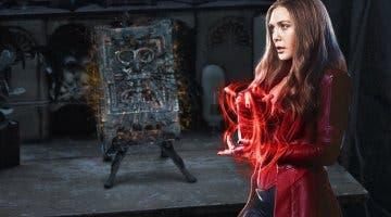 Imagen de Bruja Escarlata y Visión: ¿Qué es el Darkhold, el libro de los condenados?