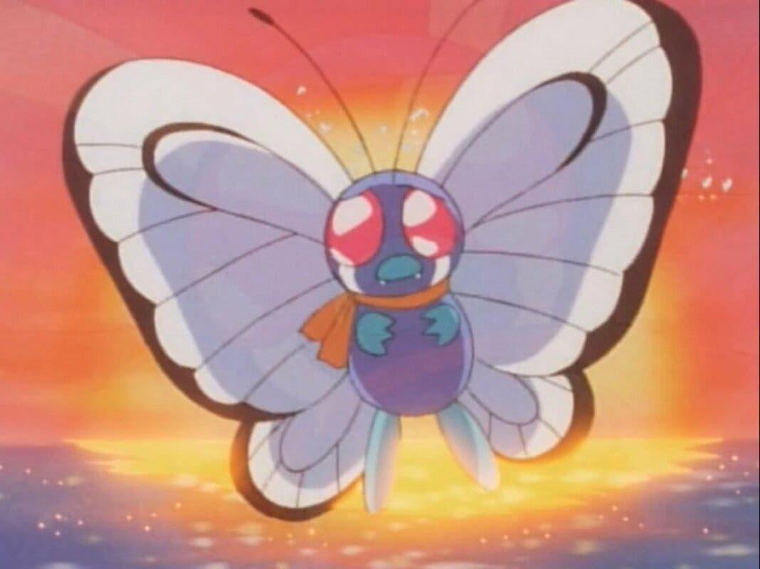 Butterfree de Ash anime Pokemon