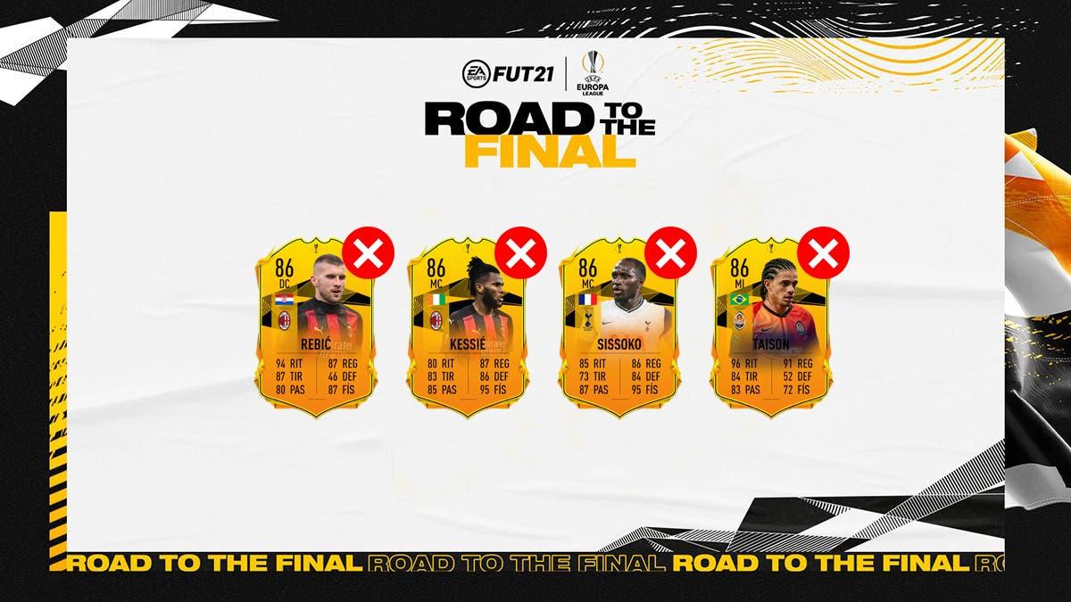 FIFA 21 Ultimate Team RTTF Europa League Cuartos de Final