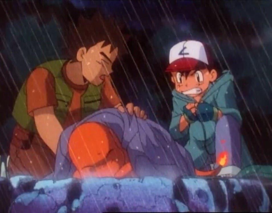 Charmander de Ash anime Pokemon