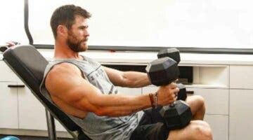 Imagen de Chris Hemsworth adelanta su 'look' de cara a Thor: Love and Thunder