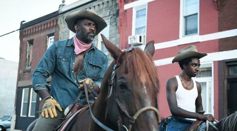 Imagen de Idris Elba y Caleb McLaughlin protagonizan el espectacular tráiler de Cowboy de Asfalto, la nueva película de Netflix