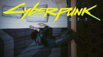Imagen de Cyberpunk 2077: V ya duerme como una persona normal y estalla el meme