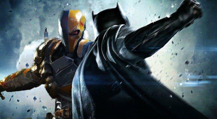 Imagen de Liga de la Justicia: esta es la historia que podrían haber protagonizado Deathstroke y Batman