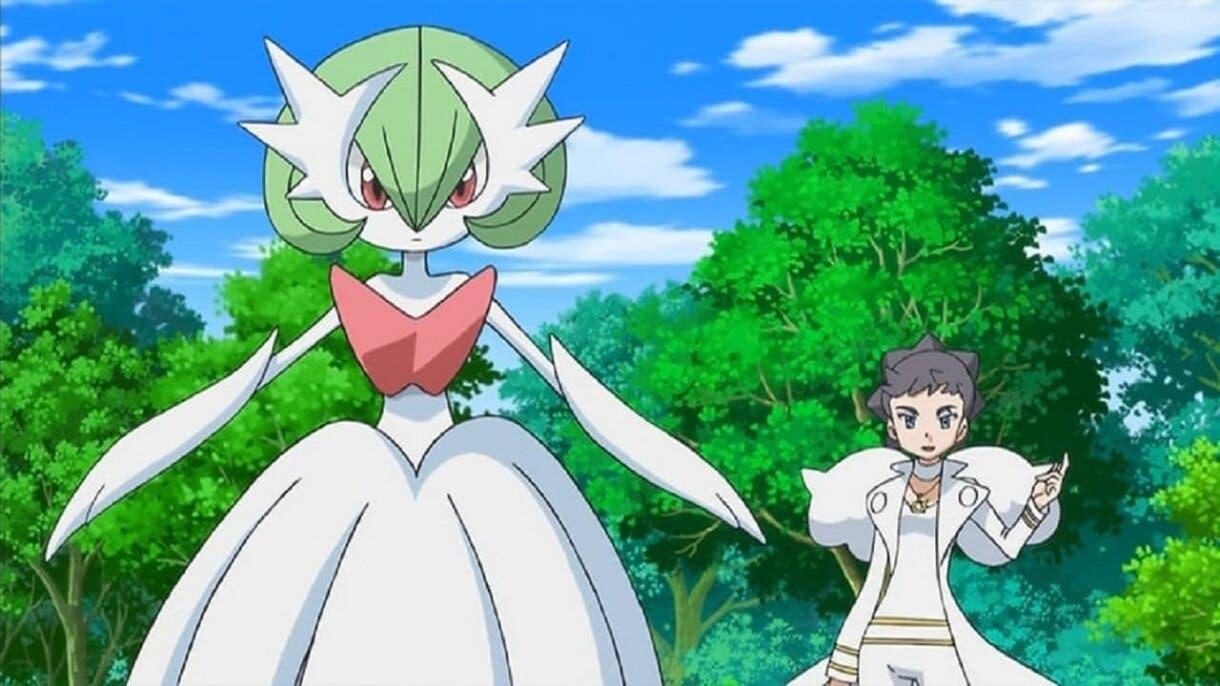 Dianta y Mega-Gardevoir Pokemon