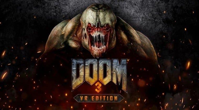 Imagen de DOOM 3 regresará este 2021 para la realidad virtual de PlayStation