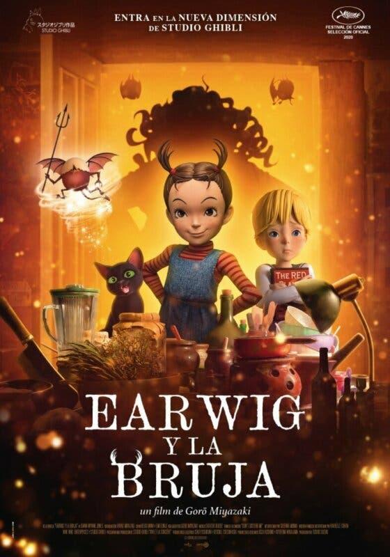Earwig y la Bruja poster españa