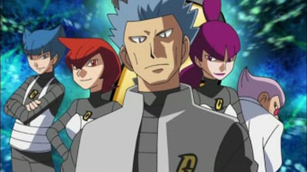 Equipo Galaxia anime de Pokemon