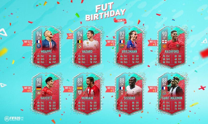 FIFA 21 Ultimate Team FUT Birthday qué podemos esperar