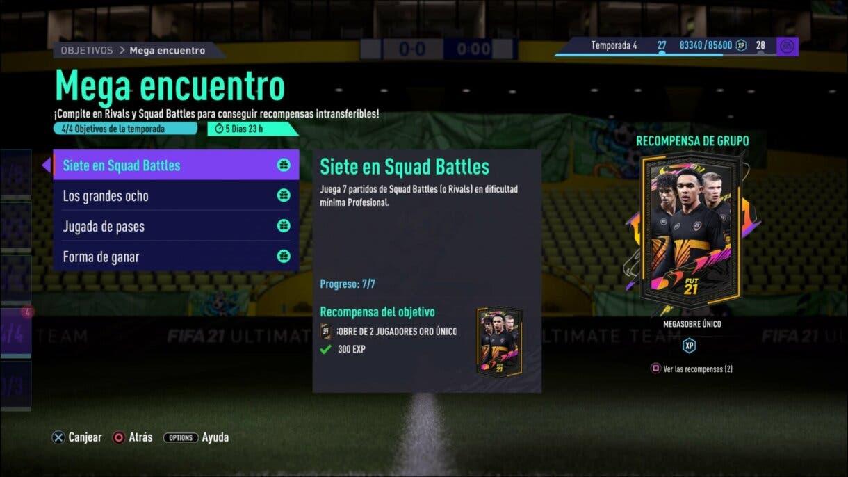 FIFA 21 Ultimate Team Megasobre Único gratuito