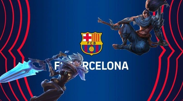 Imagen de El FC Barcelona se unirá a la liga china de League of Legends y tendrá juegos con su marca