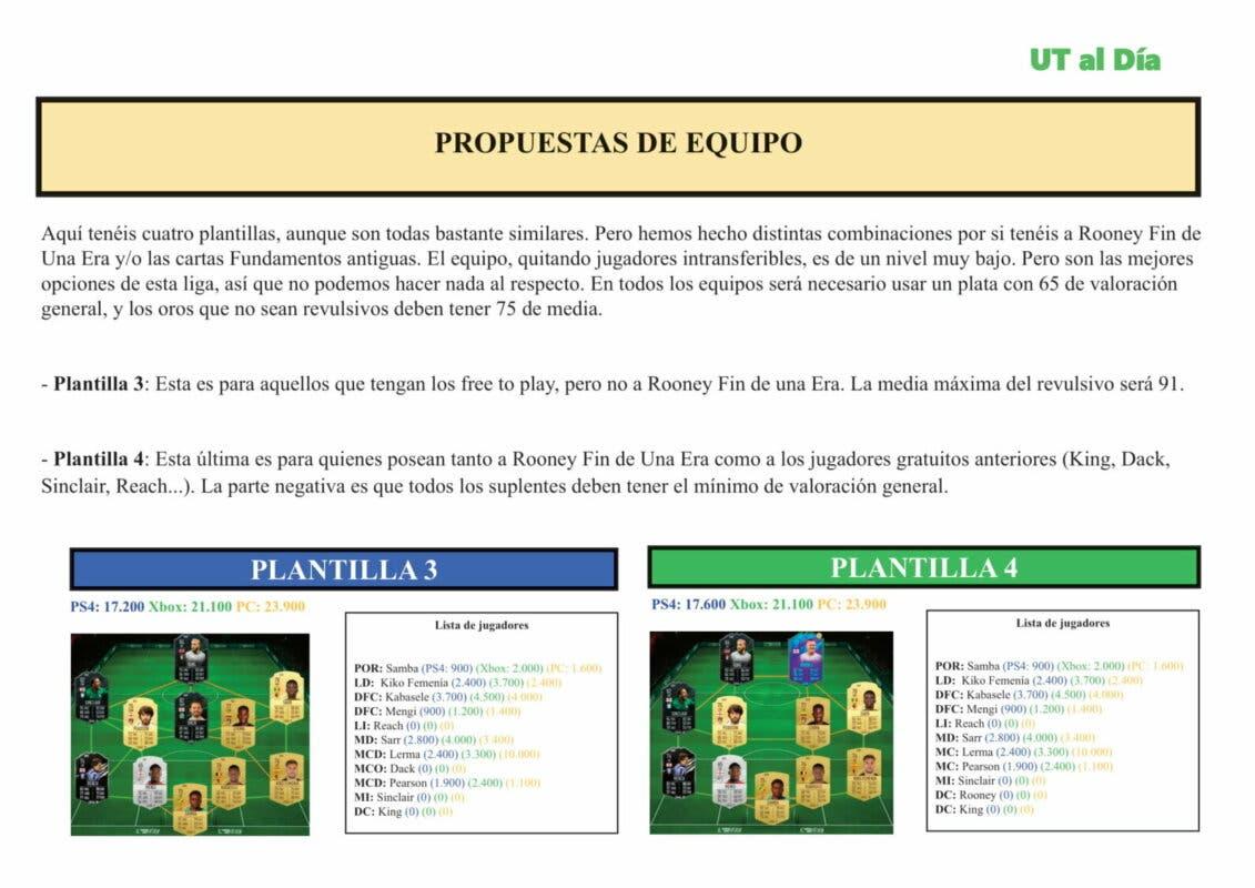 FIFA 21 Ultimate Team Guía Jugadores Fundamentos EFL Championship Buendía Lerma Henry