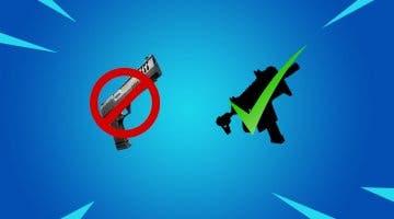 Imagen de La pistola pesada abandona Fortnite y es sustituida por otra vieja arma